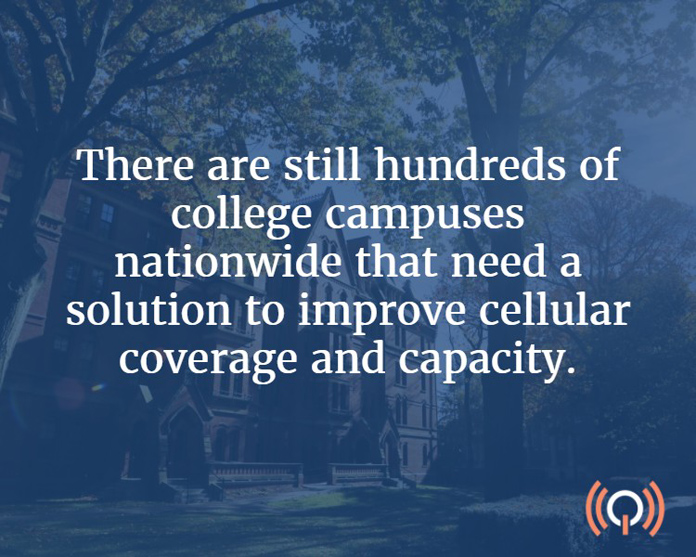 Improving Cellular Service on Campus: What Universities Need to Know